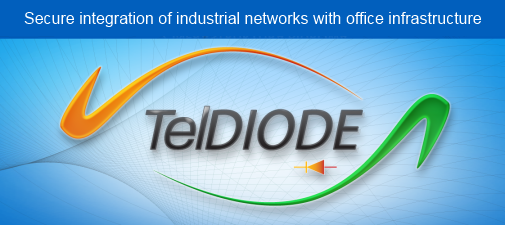 TelDIODE | Secure integration of industrial networks with office infrastructure